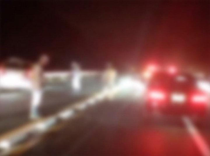 国土第一警備保障、事故現場へ緊急出動