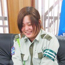 井上 愉加里(22歳)<br />警備士-経験3年