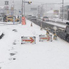 高知県自動車専用道路、積雪・凍結の恐れあり