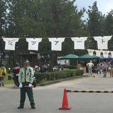 黒潮町入野の浜辺で【第29回Tシャツアート展】が開催。