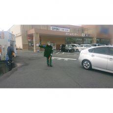 年末量販店様駐車場警備